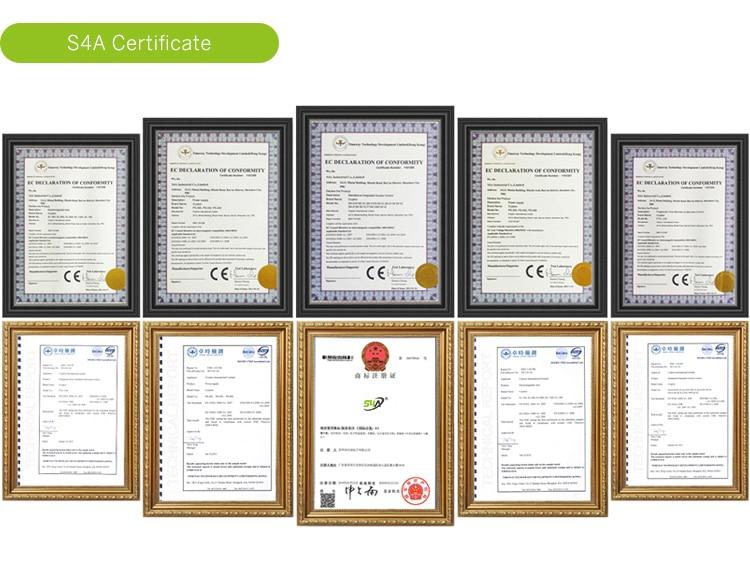 S4A Certificate
